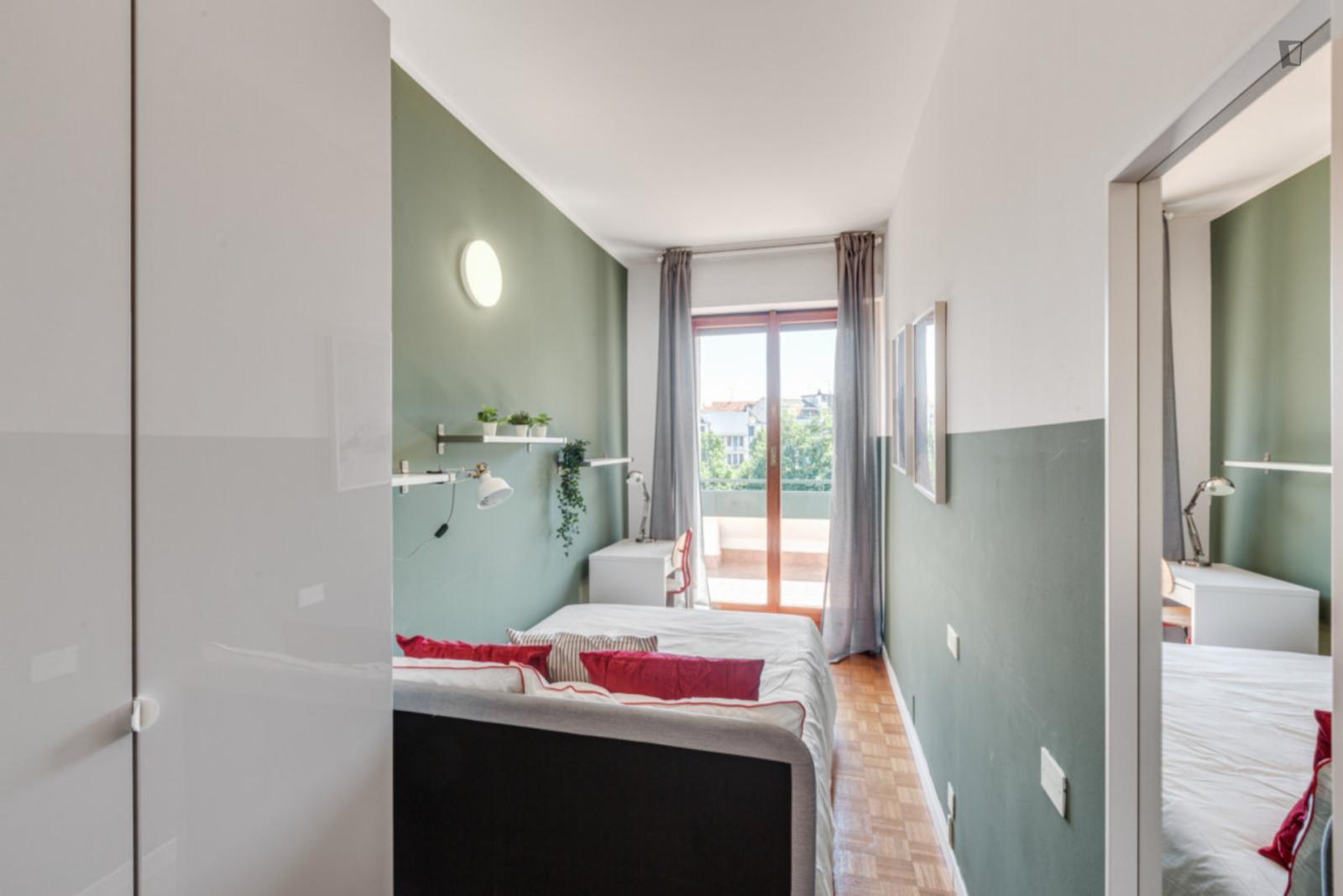 Via Bronzino, Milan, TN - 620 USD/ month
