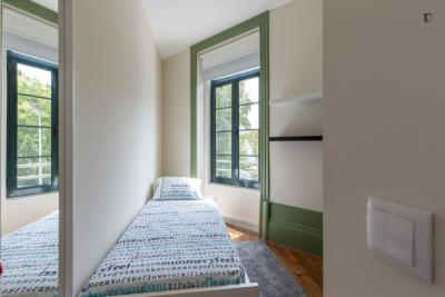 Bright and well-equipped single bedroom very close to Universidade Fernando Pessoa (PORTO)
