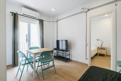 Cool 1-bedroom apartment near Playa de la Barceloneta