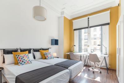 Fantastic twin bedroom close to Universidad Complutense de Madrid - Campus de Somosaguas