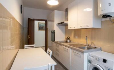 Bright 3-bedroom Apartment in Corvetto