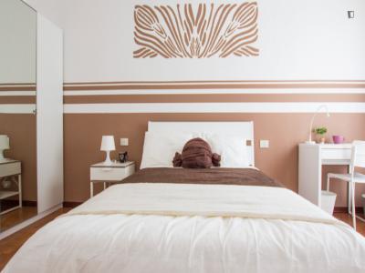 Elegant double bedroom in Sempione - fiera