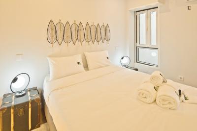 Admirable 1-bedroom flat in Alcântara