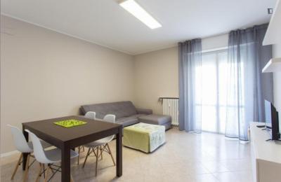 Bright 2-bedroom apartment near Bisceglie Metro