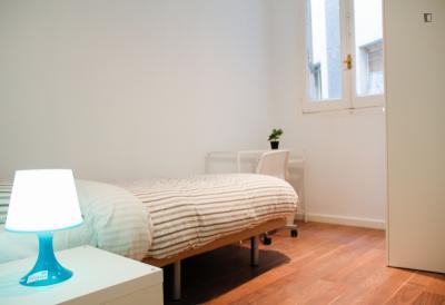 Cool looking single bedroom in Lavapiés