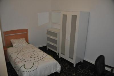 Humble single bedroom near Àngel Guimerà metro station