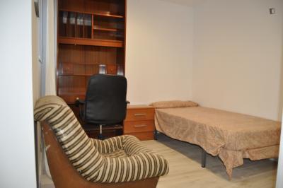 Good looking double bedroom close to Universidad Rey Juan Carlos
