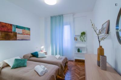 Neat 1-bedroom apartment near Cimiano metro station