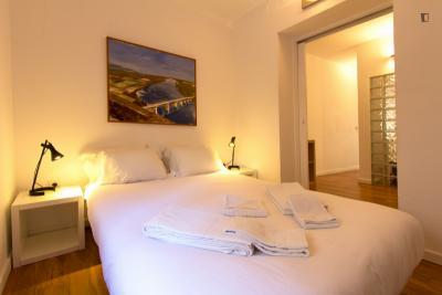 Fresh 1 bedroom apartment in Graça