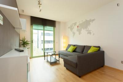 Amazing 2-bedroom apartment in El Poblenou