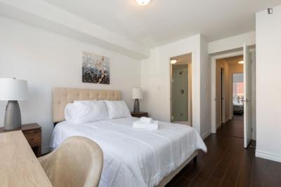 Large double ensuite bedroom in Toronto