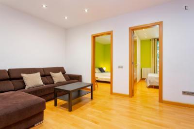 Lovely 2-bedroom apartment in La Nova Esquerra de l'Eixample