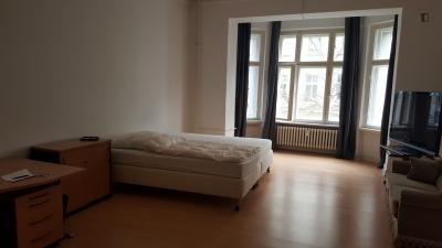 Spacious bedroom in Moabit