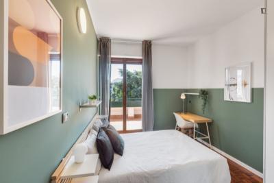 Comfy double bedroom near Politecnico di Milano