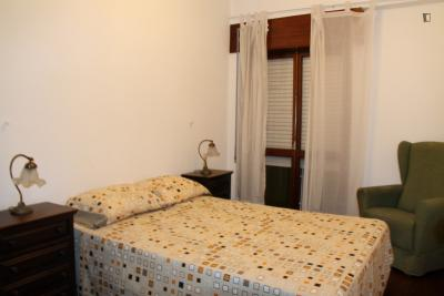 1-bedroom apartment, with outdoor area