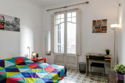 Charming double bedroom in El Fort Pienc
