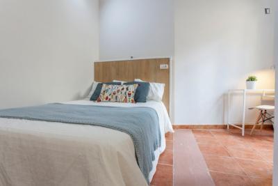Cozy double bedroom near Plaça de la Mare de Déu