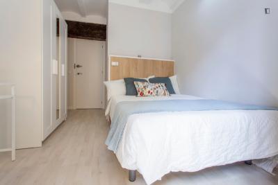 Cool double bedroom near Plaça de la Mare de Déu