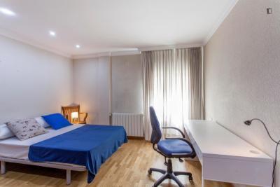 Exquisite double ensuite bedroom in Ciudad Universitária