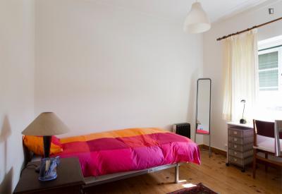 Bright and snug single room in Xabregas