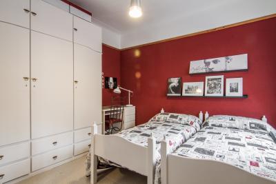 Lovely twin bedroom near the Facultat de Ciències de la Salut in Barcelona