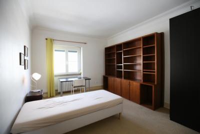 Welcoming single bedroom near the Roma-Areeiro train station
