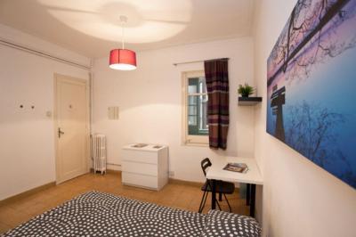 Lovely double bedroom near Universitat Ramon Llull