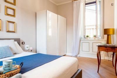 Beautiful one-bedroom apartment in San Babila