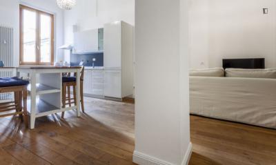 Admirable 1-bedroom flat in Porta Garibaldi