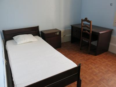 Snug single bedroom close to Faculdade de Farmácia da Universidade do Porto