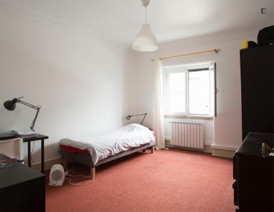 Pleasant single room near ISCTE