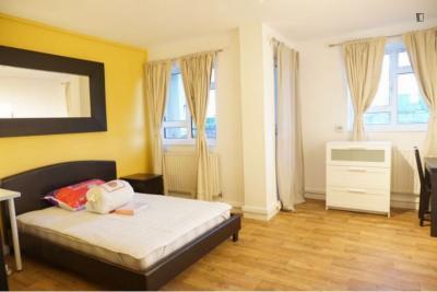 Alluring double bedroom in Bloomsbury