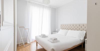 Bright 1-bedroom apartment near Cenisio metro station