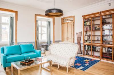 Sumptuous 4-bedroom apartment close to Baixa-Chiado metro station