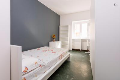 Cute double bedroom near Ponte Testaccio