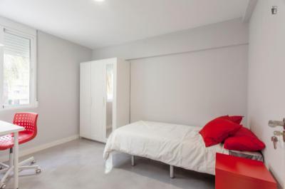 Cool Single Bedroom close to Universitat Politècnica de València