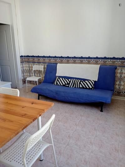 Apartamento com 3 quartos e vista de rio
