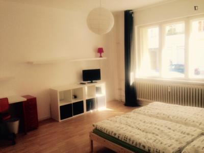 Comfy 1-bedroom flat near U-Bhf Nauener Platz metro station