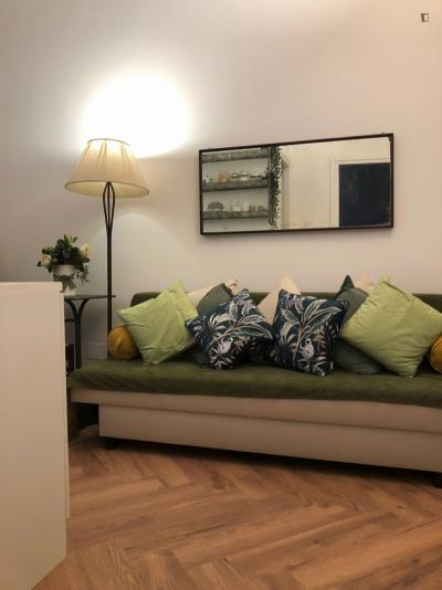 Homely 1-bedroom apartment in Monti