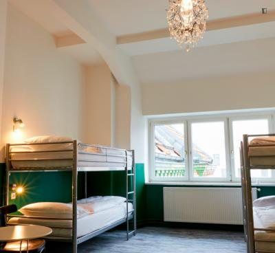 Single bed in a 4-bed room, in Mitte