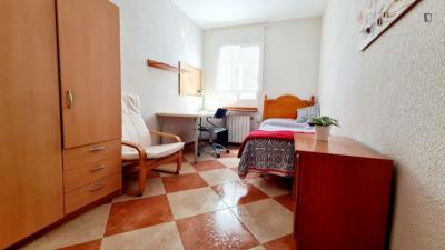 Stanza singola in un appartamento di 2 stanze