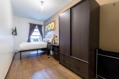 Cool double bedroom in a 2-bedroom apartment near Grand Central - 42 St metro station