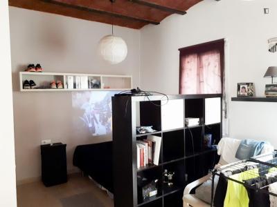 Homely studio in La Barceloneta