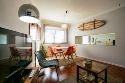 Hipster's dream by the river - 2-bedroom apartment