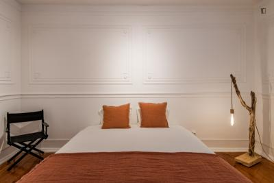 Large size interior bedroom with comfortable and quiet atmosphere!