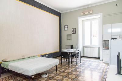 Comfy studio near Roma Termini