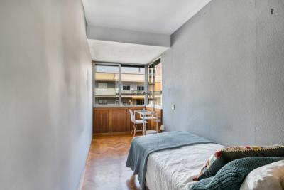 Welcoming single bedroom in Mestalla