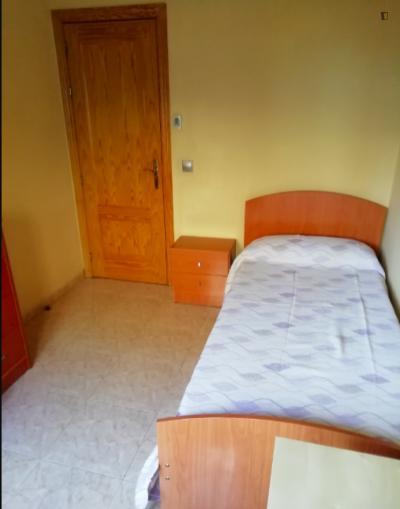 Stanza singola in un appartamento di 3 stanze