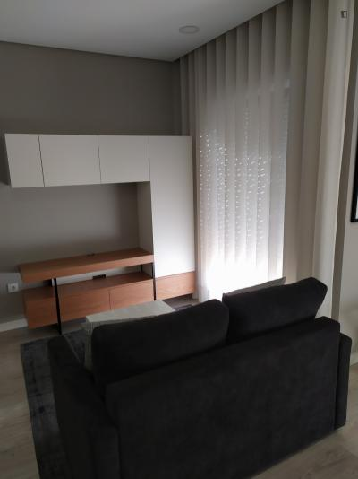 Modern 1-bedroom apartment in Paranhos