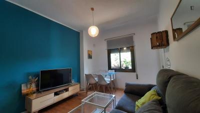 3-Bedroom apartment near Parc del Guinardó